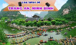 Lắp đặt loa inter-M phát nhạc nền âm thanh công cộng tại Tràng An, Ninh Bình